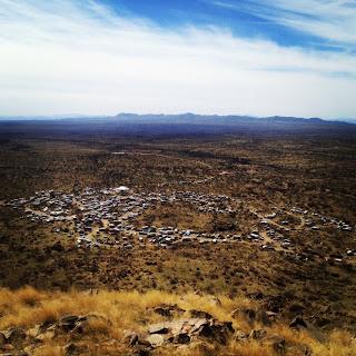 Makeshift Campsite for 24 Hours in Old Pueblo