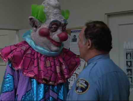 Sept 22 killer klowns from outer space we love movies for Killer clown movie