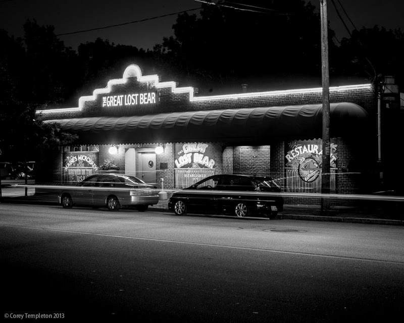 The Great Lost Bear Restaurant in Portland, Maine. Photo by Corey Templeton.