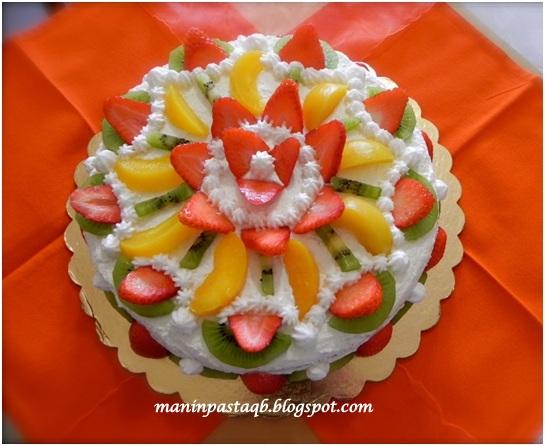 Mani In Pasta Quanto Basta Torta Fantasia Di Frutta