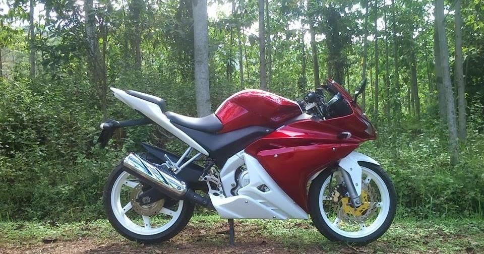 Modifikasi Yamaha Vixion Model R125 Malang