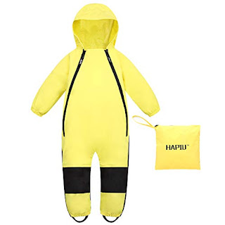 Splashy Kids Rain Pants Yellow 100/% Waterproof Windproof