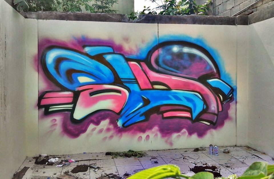 Labelsing Character Graffiti Throw Ups