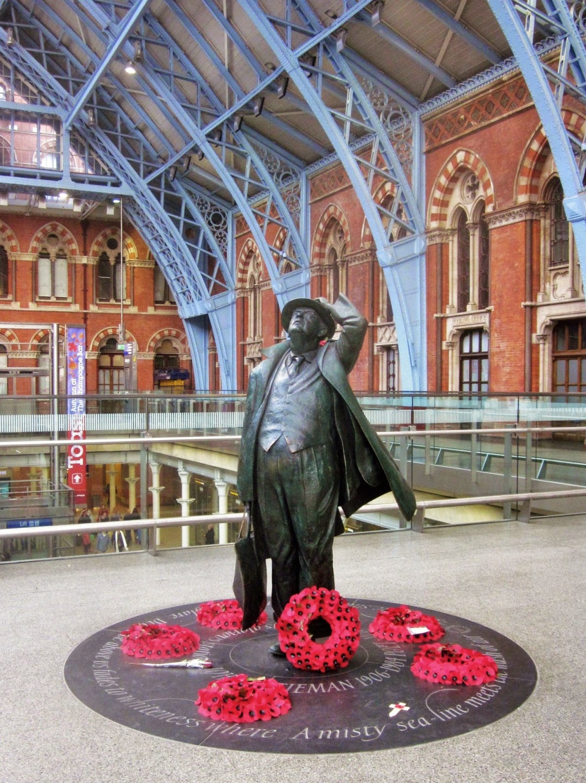 Remembrance, Paddington Station, London photo