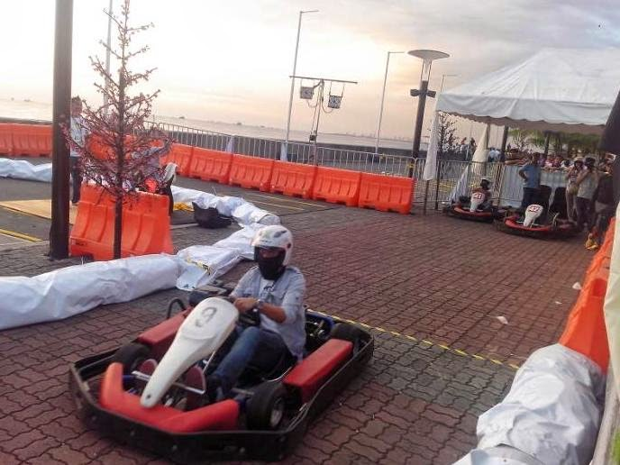 Nokia X Races: Consumer Launching Of Nokia X Smartphone - Go Kart