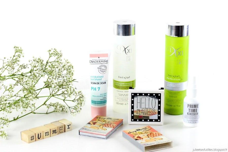 Astuces et produits pour ne pas briller en été ! julieetsesfutilites.blogspot.fr