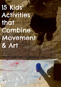 15 activities for kids that combine movement and art