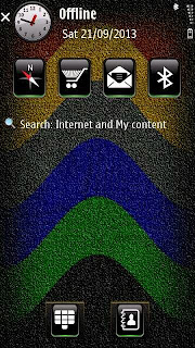 SandColors theme for Symbian S60v5
