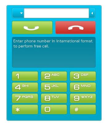 how to call a phone through internet