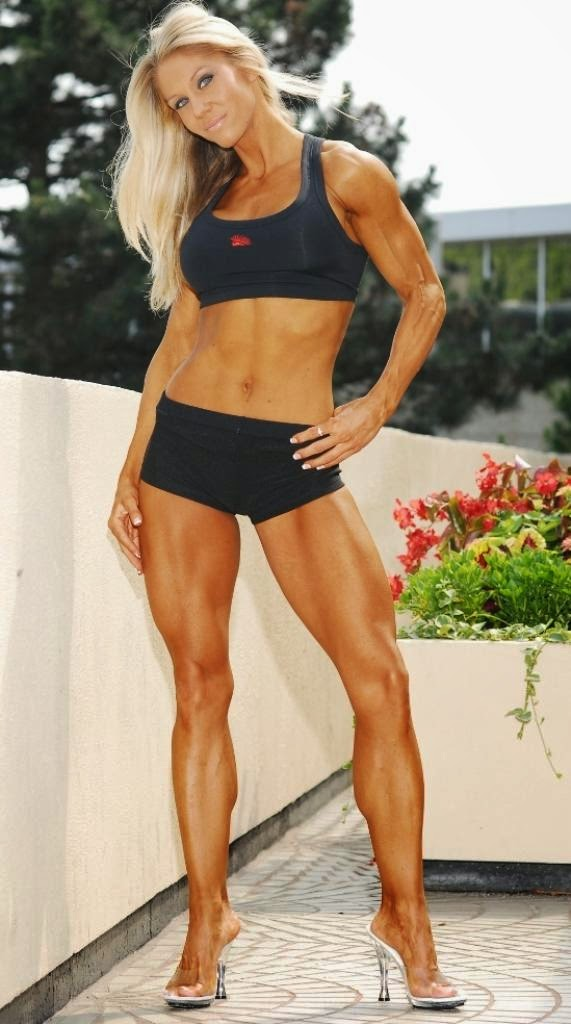Hot Strong Legs: Sherrie Carnicle legs and calves with heels