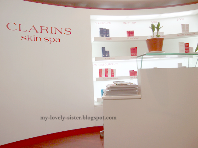 My lovely sister a blog with love pengalaman di clarins for Clarins salon