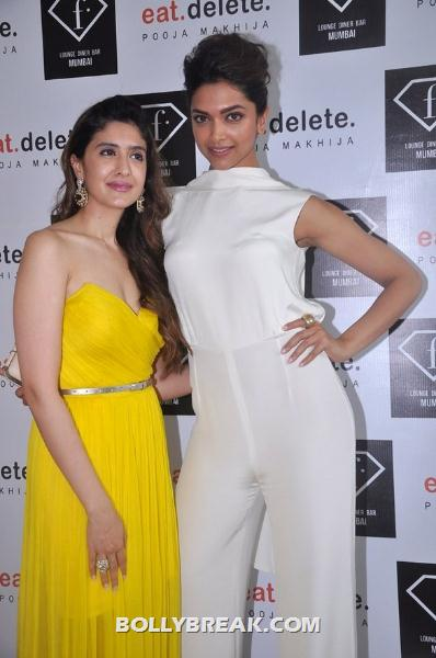 Deepika Padukone in white dress at Pooja's Eat Delete event -  Deepika Padukone at Pooja's 'Eat.Delete.' success brunch