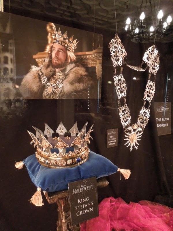 Original King Stefan royal crown chain Maleficent
