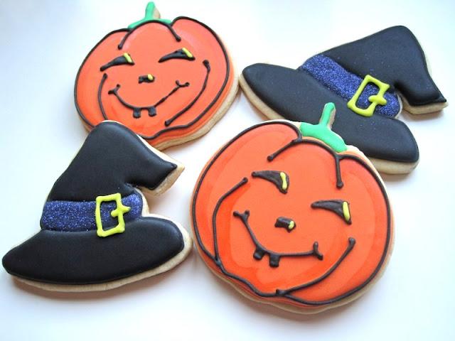 Calabazas y Brujas de Halloween!! Y nueva receta de galletas {Tutorial}