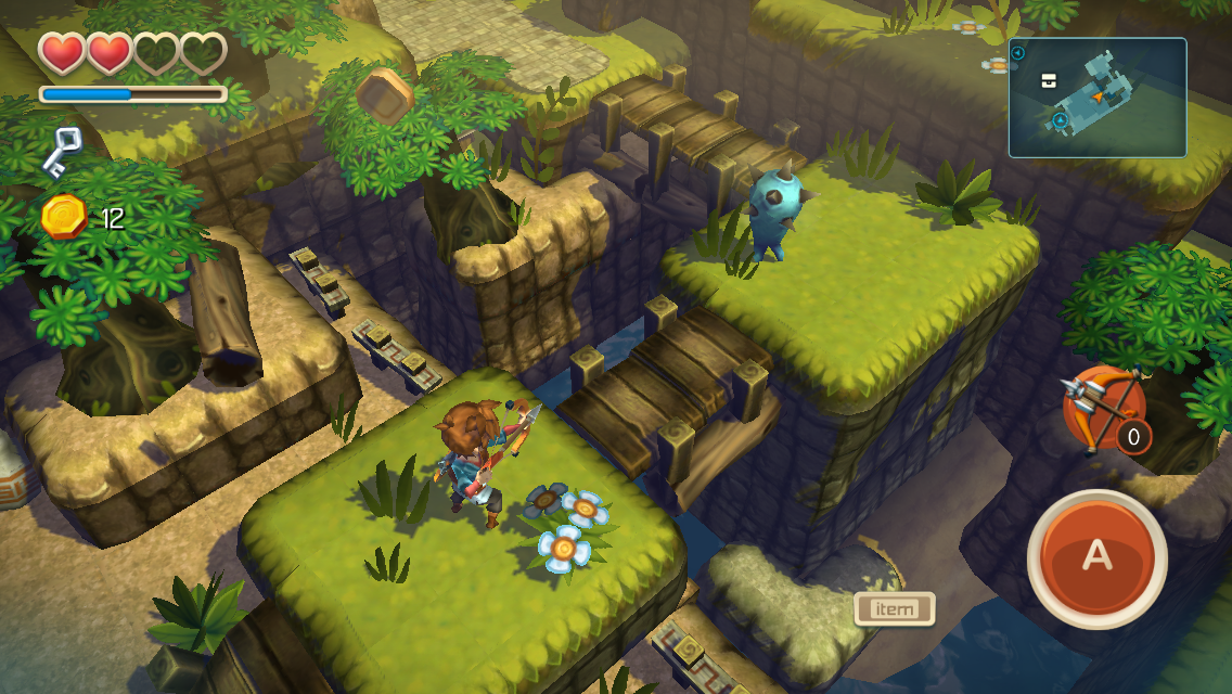 Oceanhorn gameplay screenshot