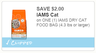 Free Iams Cat Food Coupons Printable
