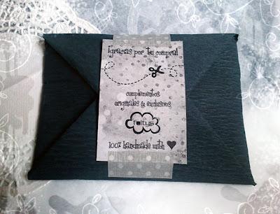 paquete de envío foltys (100% handmade with ♥)