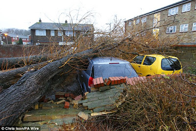 >A winter non-stop winter of powerful Atlantic storms throws biggest punch to UK yet!