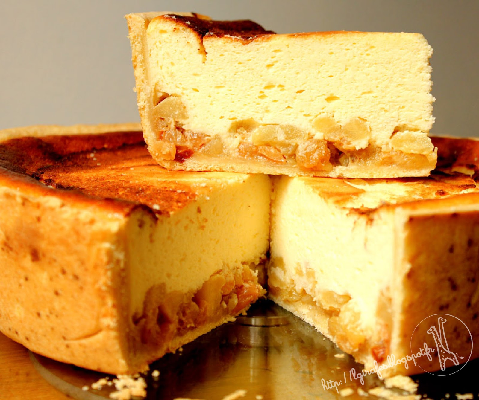 Gateau orange fromage blanc