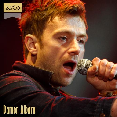 23 de marzo | Damon Albarn - @Damonalbarn | Info + vídeos