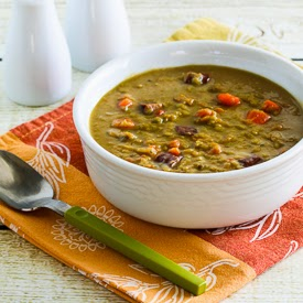 ... Kitchen®: Slow Cooker Split Pea Soup with Chicken Sausage and Carrots