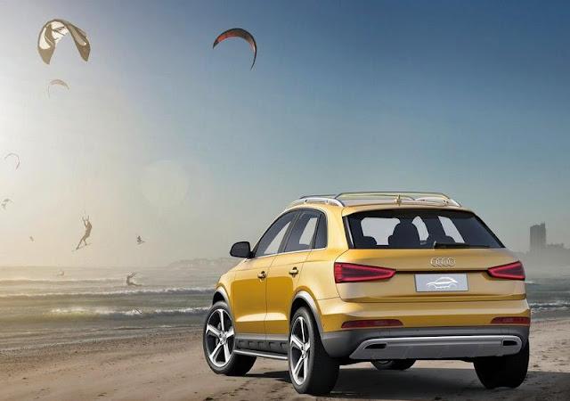 2012 Audi Q3 Jinlong Yufeng Concept,