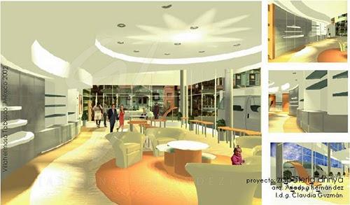 Ah arquitectura moderna 2002 dise o interior y de - Mobiliario de zapateria ...