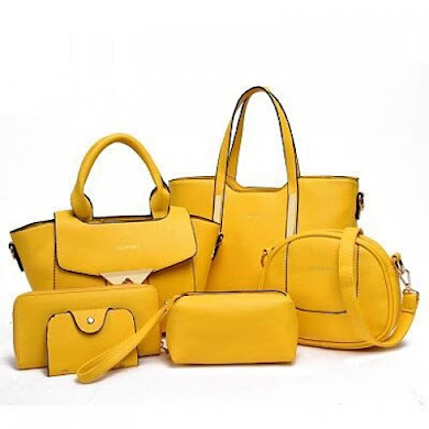 Multi Function Bag (6 in 1 Set ) – Yellow