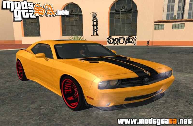 SA - Dodge Quinton Rampage Jackson Challenger SRT8 2010
