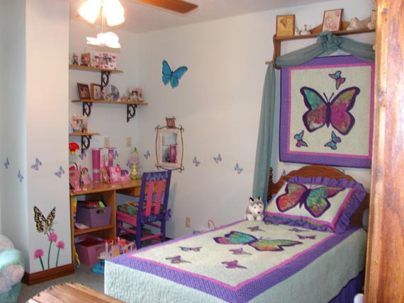 Girl Butterfly Room