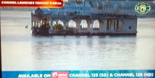 Epic Channel added on Airtel Digital TV at Channel No.125 in SD and Channel No.126 in HD Quality