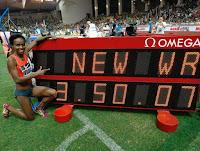 ATLETISMO - Dibaba consigue un nuevo récord mundial de los 1500m en la Diamond League de Mónaco