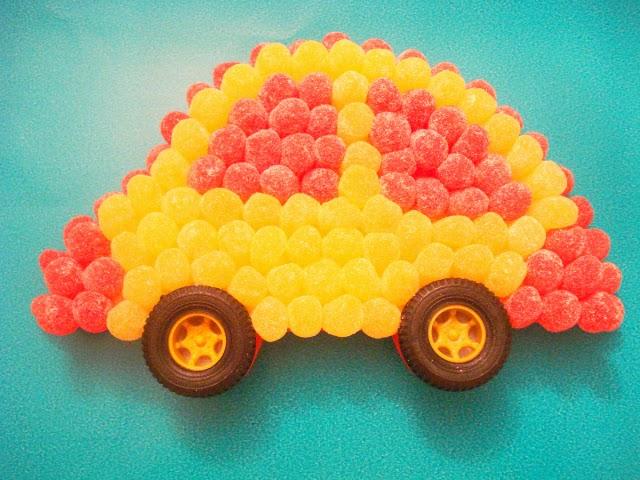 carro de jujuba - festa infantil