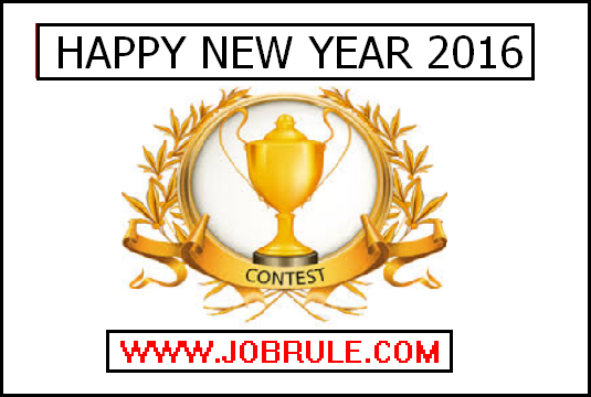 Jobrule Facebook Page Happy New Year 2016 Contest