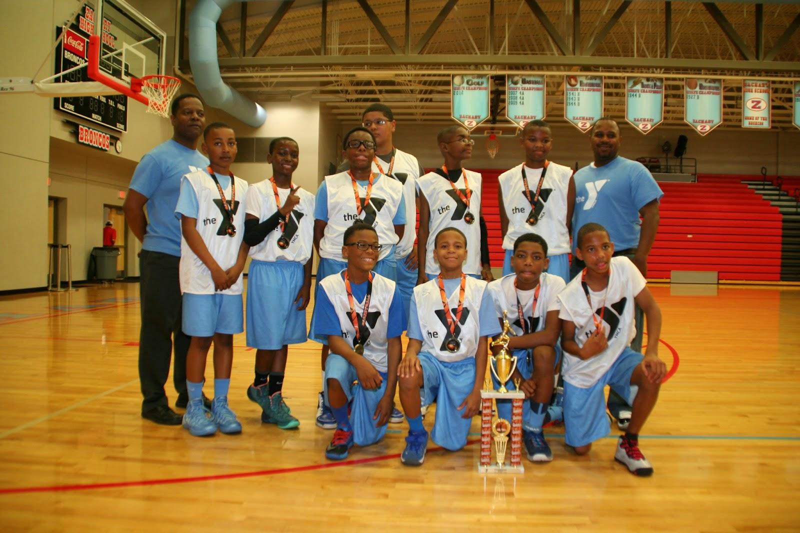 Blue Ice 2014 YMCA Basketball