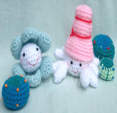 Amigurumi Hermit Crab : Amigurumi Crochet Pattern-Hermit crab pearl oyster and ...