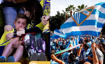 Descenso del Villarreal y clasificación del Málaga para la Champions en 2012