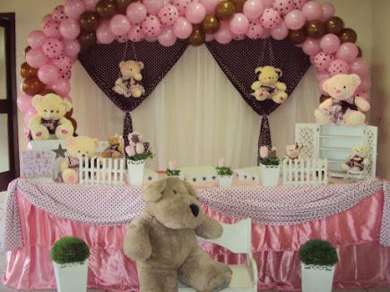 Ursos Rosa e Marrom