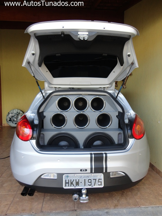 Fiat Bravo tunado e rebaixado suspens o ar Carros Online