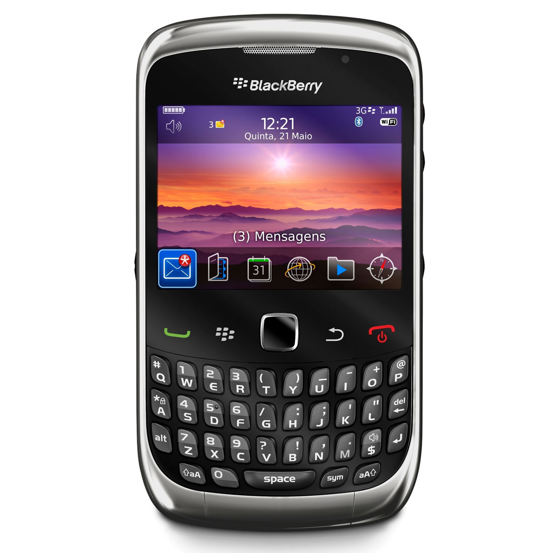 Curve 3G 9300 Mobile Phone is an advanced version of BlackBerry Curve ...
