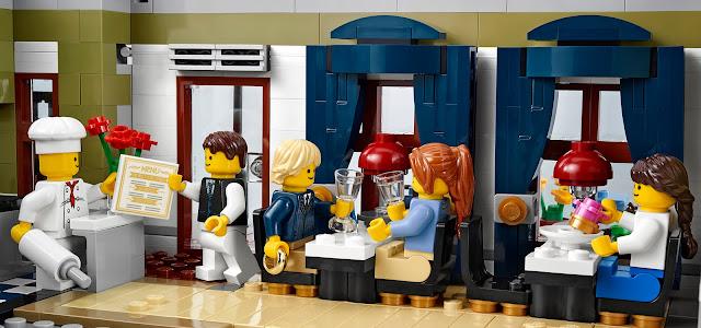 Lego-Toma del pedido en un restaurante