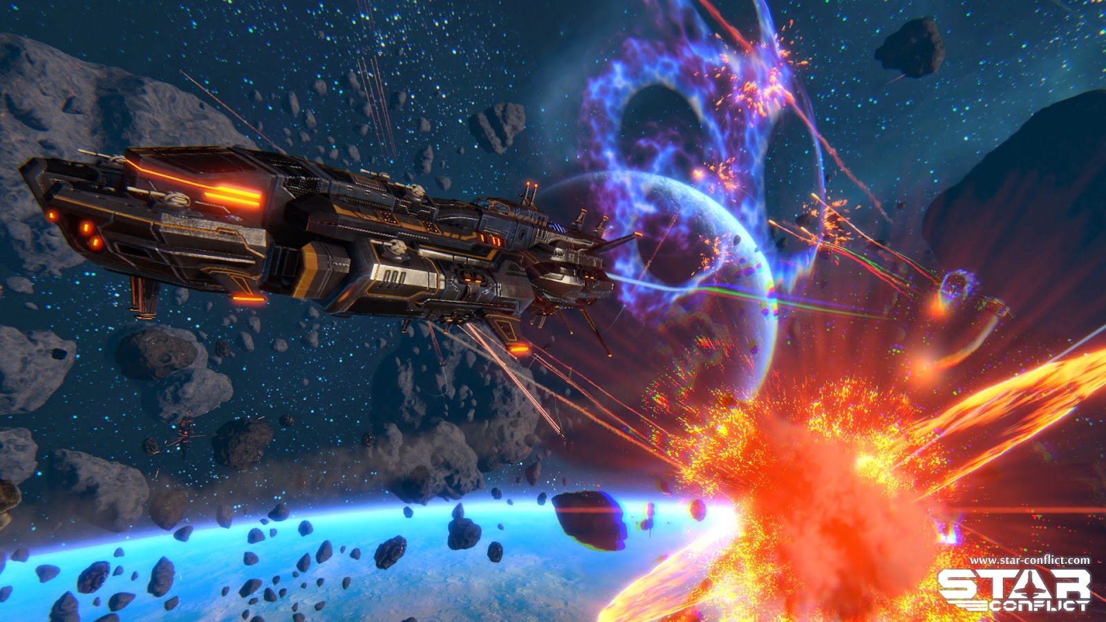 Star Conflict is now available on Linux