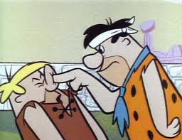 Fred Flintstone bullying