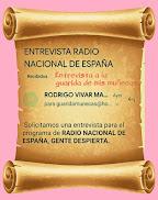 LA ENTREVISTA DE RADIO NACIONAL DE ESPAÑA QUE NUNCA LLEGÓ...🌼