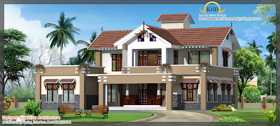 eplans.com - House Plan: Awesome Two Story House