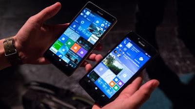 Microsoft анонсировал первые смартфоны, работающие под управлением новой ОС