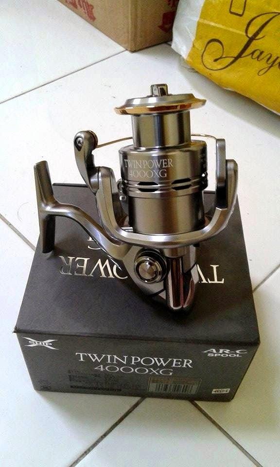 reel shimano twin power