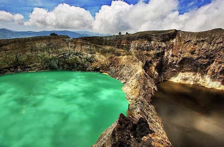 Danau Kelimutu, Indonesia