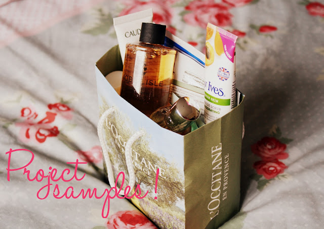project-to-use-up-all-my-beauty-samples-blog-post-blogger