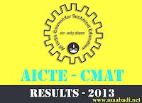 CMAT September 2013 Results